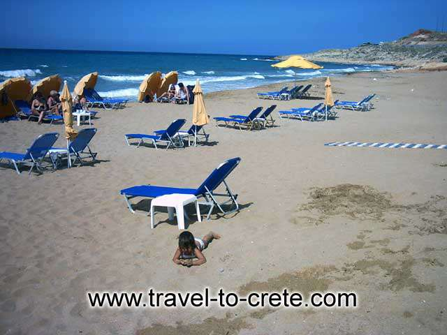 Hersonissos (or Chersonissos, as it sometimes transposed from the Greek) is on the north coast of the island of Crete, about 25 kilometres east of the capital,