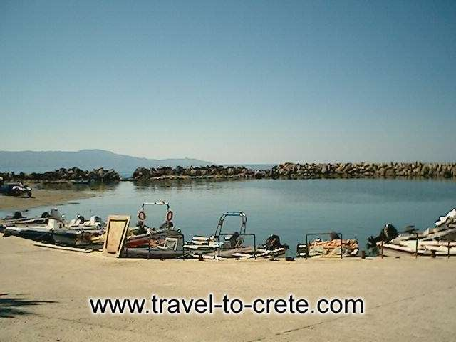 Platanias Village is situated on the western part of Crete just 10 kilometers from the City of Chania. It is an attractive holiday resort with quality hotels, e